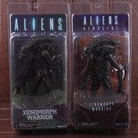 NECA Aliens Genocide Series Xenomorph Warrior Black Yellow PVC Alien NECA Xenomorph Action Figure Collectible Model Toy