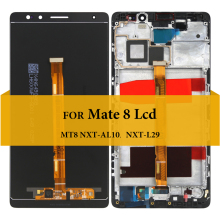 For Huawei Mate 8 LCD 6.0'' Touch Screen Assembly MT8 NXT-AL10 NXT-L29 Display Replacement Parts Touch Screen For Mate 8