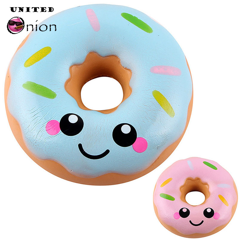 Doughnut Pineapple Rising Kawaii Squeeze Toys Decoration Phone Straps Fun Toys Children Gift Beautiful In Colour Welding & Soldering Supplies