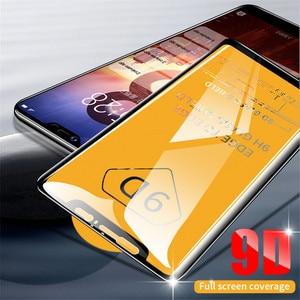 Image 2 - 9D Full CoverกระจกนิรภัยสำหรับOPPO A59 F1S F3 Plus R11 R11S Plus F5 F7 A1 A1K A7 V15 a9 F9 Pro Screen Protectorฟิล์มด้านหน้า
