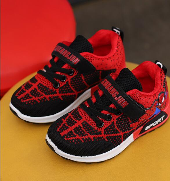 2018 spring children's shoes new boys and girls casual net shoes Q213
