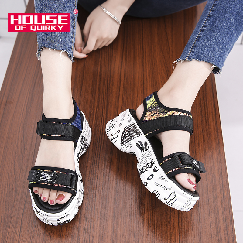 Summer Women Sandals 2019 New Sexy Peep Toe Platform Shoes Woman Hollow Out Net Cloth Shoes Ladies Outdoor Casual Beach ShoesSummer Women Sandals 2019 New Sexy Peep Toe Platform Shoes Woman Hollow Out Net Cloth Shoes Ladies Outdoor Casual Beach Shoes