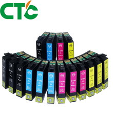 16 Pack T1291 Compatible Ink Cartridge for INK Stylus SX230 SX235W SX420W SX425W SX430W SX435W SX438W SX440W 29xl t1291t2992 t2993 t1294 ink cartridge full ink for stylus sx235w sx230 sx420w sx425w sx430w sx435w sx440w sx445w printer