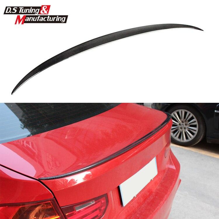 все цены на  m3 style rear trunk wing spoiler for bmw 3 series 2012 2013 2014 2015 2016 4-door sedan 318i 320i 328i 330i 335i gloss black  онлайн