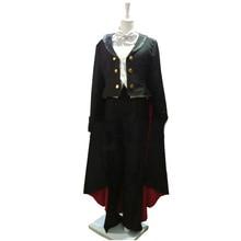 2016 Тиба Мамору костюм комплект Сейлор Мун Косплэй смокинг Маска Костюм для вечеринки