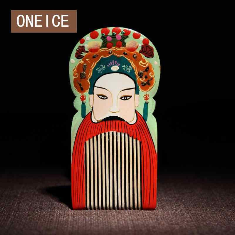 Changzhou Comb Grate Chinese Wind Foreigners Gifts Characteristics Abroad Gift Peking Opera Handicrafts Wedding Decoration