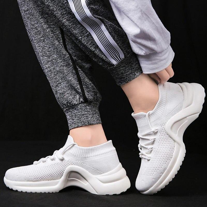 2019 Спортивная обувь Повседневная модная женская обувь Для женщин носки кроссовки сверхлегкие дышащие сандалии вразлёт, плетение; женская обувь; zapatillas mujer; Лидер продаж