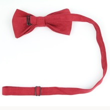Elegant and Colorful Suede Bowtie without Pattern