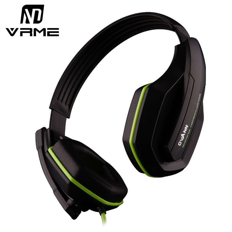 Vrme Game Headset with Microphone for PS4 Earphones and Headphone Bass Stereo Headphones Noise Cancelling for Laptop Tablet iPad earphones headset earphones laptop bass earphones headset belt microphone
