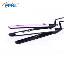 FMK Professional Hair Straightener Flat Iron Tourmaline Ceramic Straighting Fast Straightening Styling Tool