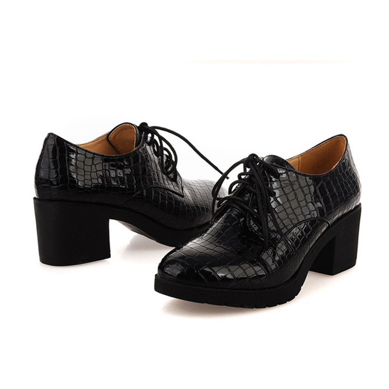 and autumn oxford shoes for fashion lace up