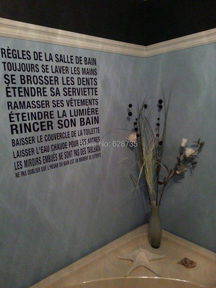 Buy free shipping modern french style - Papier vinyl salle de bain ...