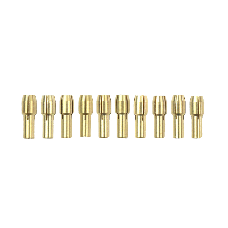 MAXMAN  20 Pcs Grinder Clamp Drill Mini Other Tools Rotary Tool Accessories Engraving Copper Chuck 0.5-3.2 Mm Multifunctional