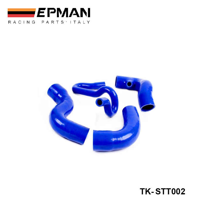 Silicone Intercooler Turbo Boost Hose Kit For Seat Leon Cupra R 1.8T (4pcs) EP-STT002Silicone Intercooler Turbo Boost Hose Kit For Seat Leon Cupra R 1.8T (4pcs) EP-STT002