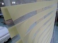 Nach Maß 100% Polyester Roller Zebra Jalousien in Grün Translucent Fenster Vorhänge für Wohnzimmer 30 Farben sind Vorhanden