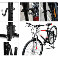 New Height Adjustable Bike Bicycle Rear Stay Bracket Stand Repair Holder Outdoor Riding Cycling Rack Parking