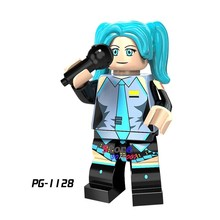 1PCSSuper Hero Movie Serie Alien vs Predator Hatsune Miku bouwstenen model bricks speelgoed voor kinderen(China)
