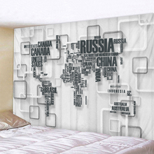 3D Map Tapestry Indian Mandala Wall Hanging Tapestries Boho Bedroom Rug Couch Blanket 6 Size