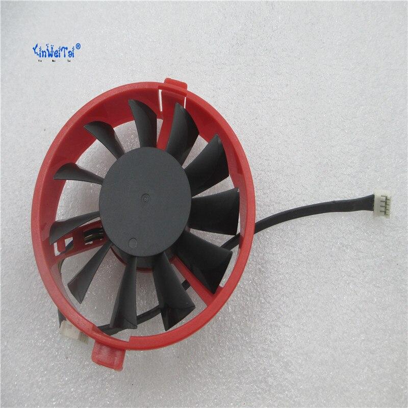 GA82O2U 12 В 0.45A для Dylan Hengjin R7-260X HD7770 HD7750 супер версия графика вентилятор