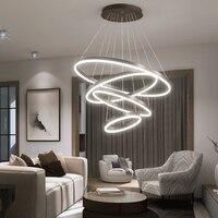 Современная светодиодная подсветка Лофт скандинавский подвесной светильник подвесные светильники для гостиной столовой подвесной светил
