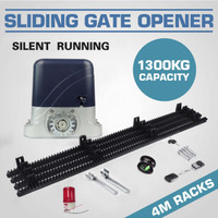 1400lbs 600KG 1300KG automatic sliding gate opener motor with remote controls(photocell, lamp, gsm, button optional)