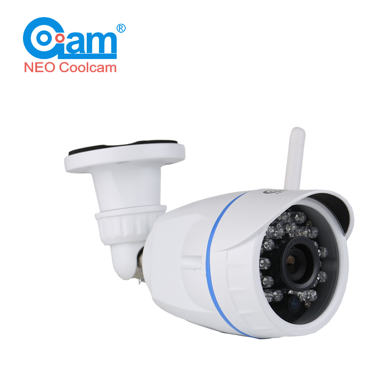 NEO COOLCAM NIP-56FX Outdoor IP Camera Wifi Wireless Waterproof IP66 Megapixel 720P HD  Surveillance Security Support SD Card neo coolcam nip 02oao wireless ip camera network ir night vision cctv video security surveillance cam support iphone android