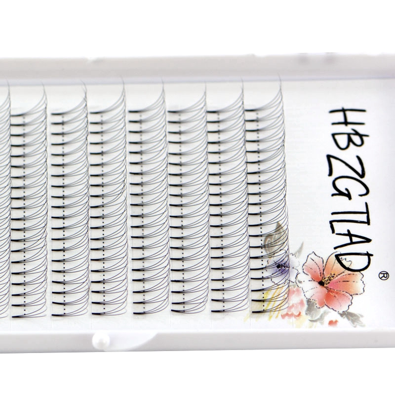 Image 2 - NEW 3D/4D/5D/6D/10D Russian Volume Eyelashes Extension Short Stem Pre made Fans C/D curl Mink Lash Eyelash Individual Extensions-in False Eyelashes from Beauty & Health