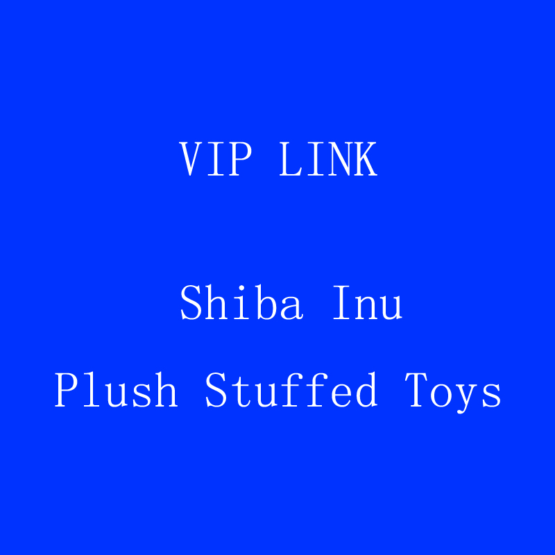 VIP link Shiba Inu Plush Stuffed Toys Super Soft Chai Dog plush Pillow