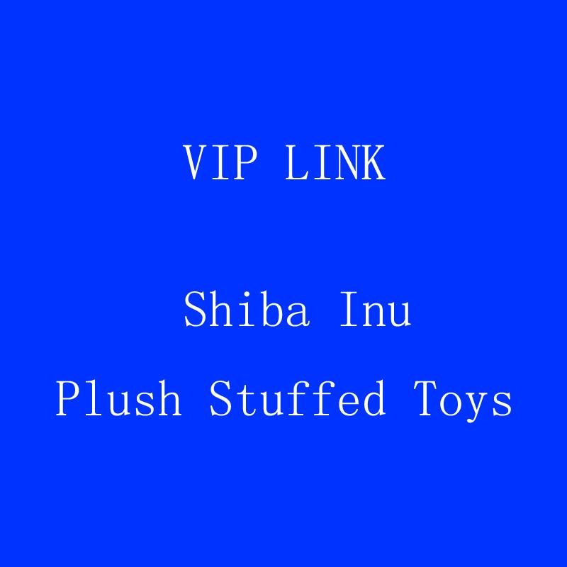 VIP link Shiba Inu Plush Stuffed Toys, Super Soft Chai Dog plush Pillow