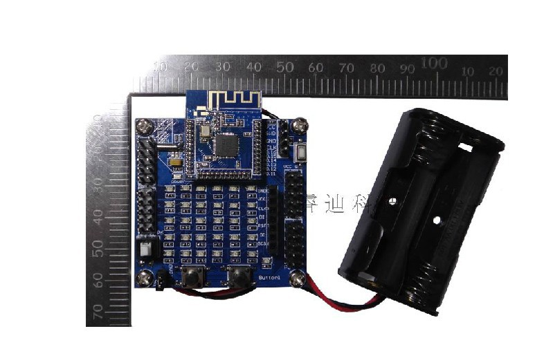 Freeshipping NRF51822 test board/BLE4.0 / compatible with the official NRF51822EK freeshipping cc2530 networking experiment board zigbee dev board