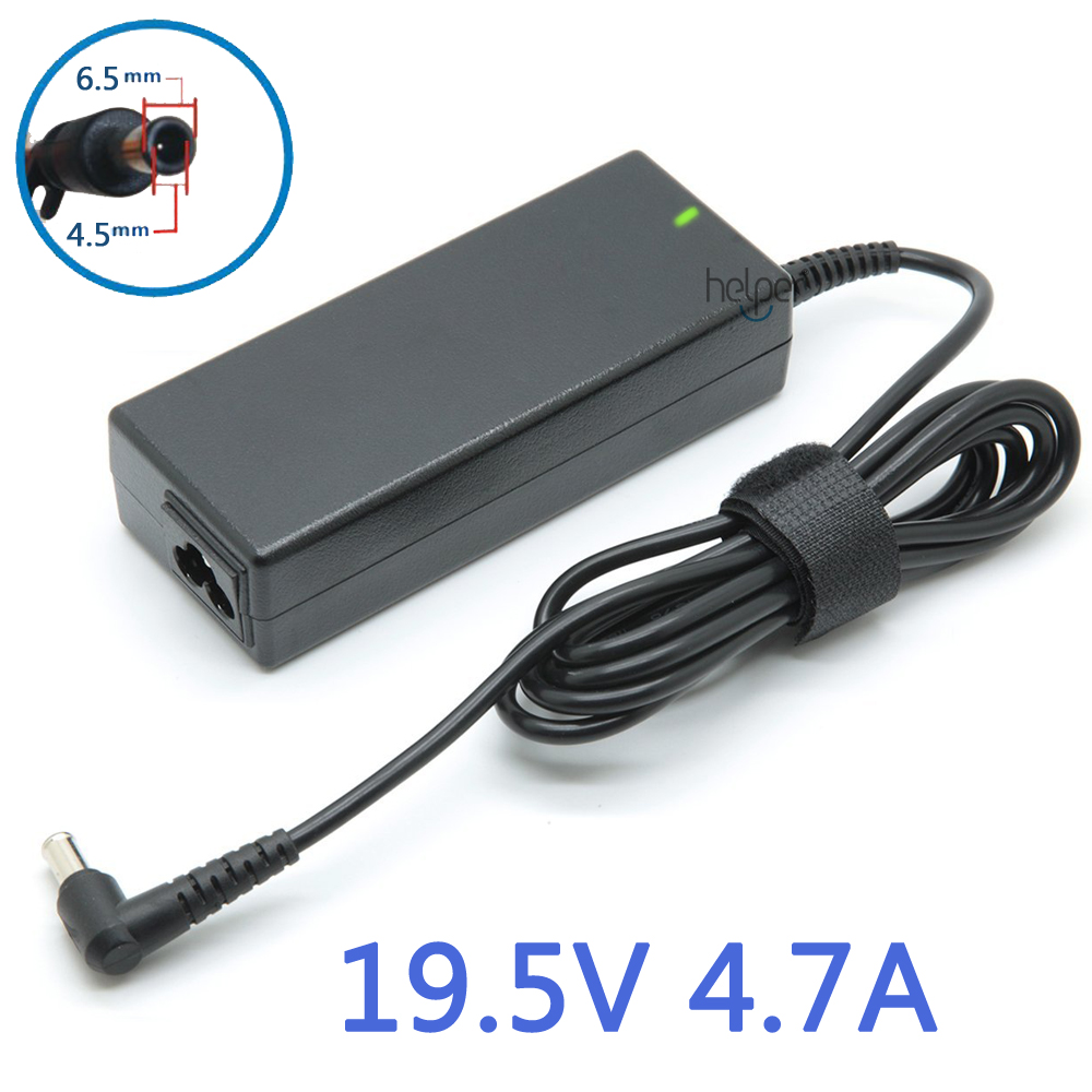 19.5V 4.7A 90w AC Adapter Battery Charger for Sony Vaio PCG VGN Laptop 90w lcd laptop adapter white
