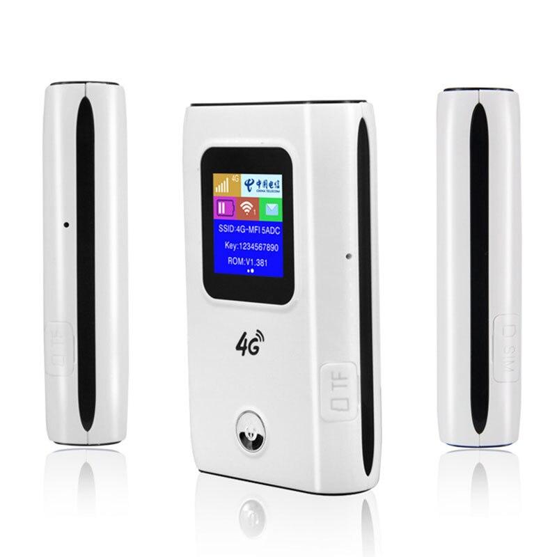 4G Wifi routeur voiture Hotspot Mobile sans fil haut débit poche Mifi déverrouiller Lte Modem sans fil Wifi Extender répéteur Mini routeur - 2