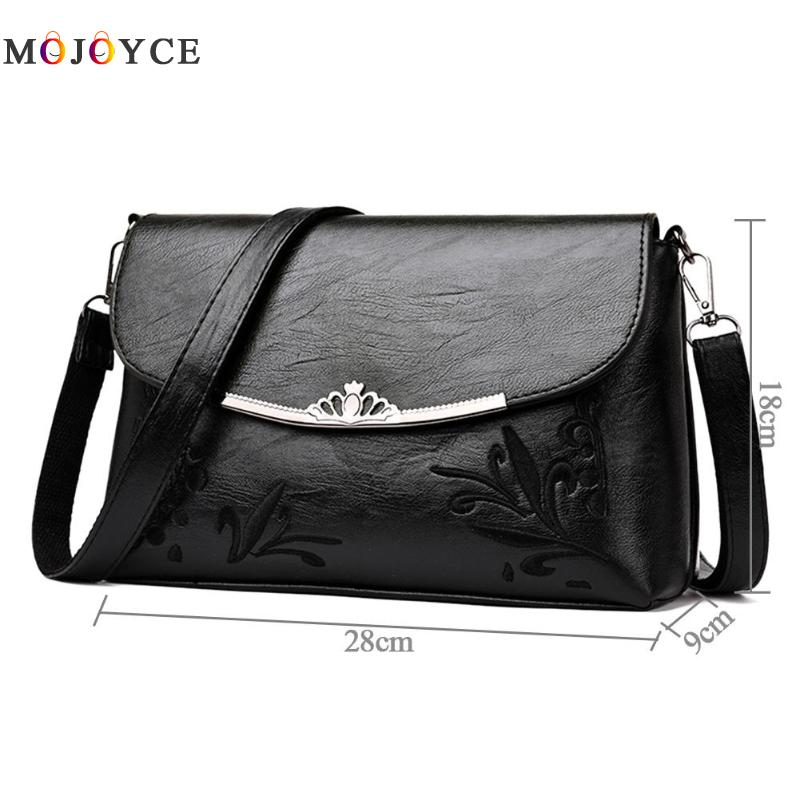 Simple Pure Women Handbags Flap PU Leather Shoulder Bag Office Lady Elegant Clutch bolsos mujer de marca famosa 2018 6