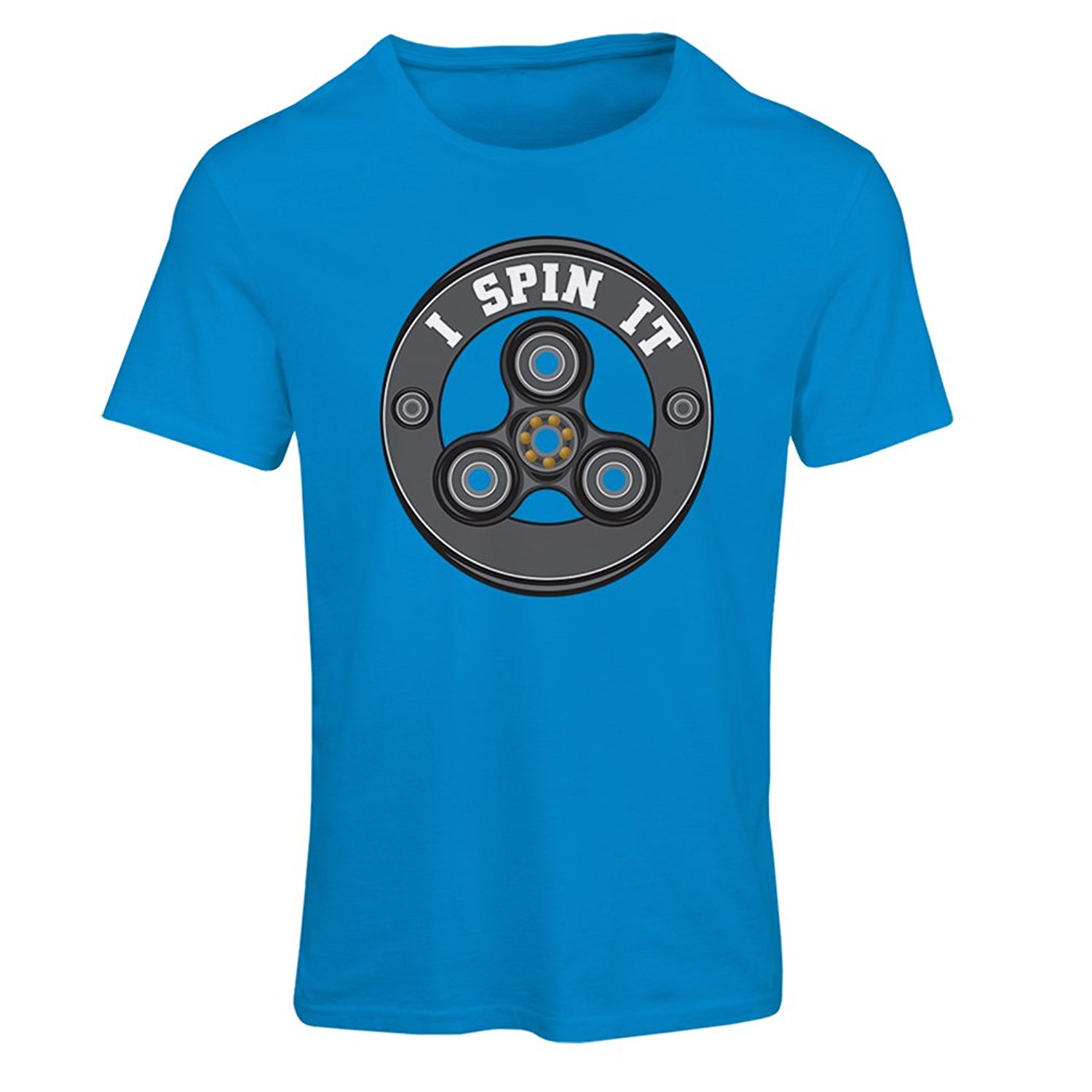 Gildan T shirts for men I Spin it - cool gadgets enthusiast - Fidget Hand Spinner Toy EDC
