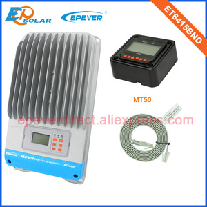 Image 2 - EPSolar MPPT 12v 24v 36v 48v auto work solar panel controller ET6415BND with MT50 remote meter for real time monitor 60A 60amp