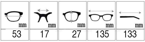 Wrap Eye Glasses Frames (8)
