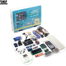 The Most Powerful RFID Starter Kit for Arduino UNO R3 Upgraded version Learning Suite With Retail Box