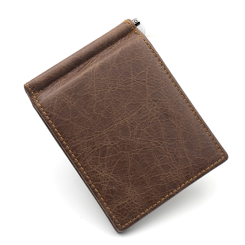 vintage do couro genuíno carteiras Wallet TO Fold Number : 80 Percent Off
