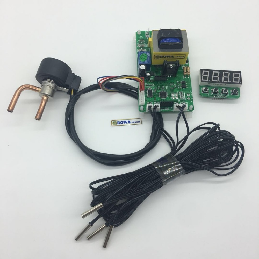 0 16m3 h throttle device work independently and it consists of EEV PCB control board and