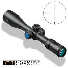 Discovery VT-T 6-24X50 SFVF DLT FFP MIL первый фокальный самолет Охота Стрельба riflescope для airgun air rifle scope камера adapte