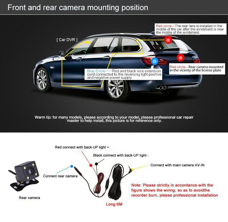 Dual Lens Car DVRs