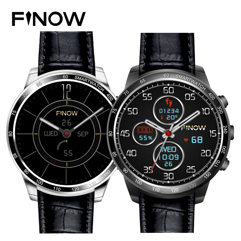 2017 New wearable devices smart watch Finow Q7 plus support 32GB TF card Android 5 1