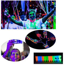 Pixco Photography Props 3Pc Party Colorful DIY Body painting luminous pigment luminous paint safety and environmental protection