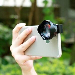 Image 3 - Ulanzi lente de teleobjetivo 4K HD para teléfono móvil, lente de cámara con Clip para iPhone 8 7 X Plus Samsung S8 S9