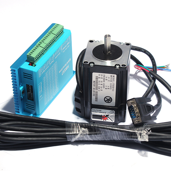 57 high speed closed loop stepper motor 2.2N servo closed loop stepper motor driver HBS57 wantai closed loop step motor 86hbm80 1000 servo motor 9n m nema 86 hybird closed loop 2 phase stepper motor www wantmotor com