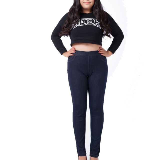 398dccefe Big Tall Jeans For Women Plus Size 5Xl Stretch Black Jeans For Women High  Waisted Skinny Jeans Ladies Long Elastic Denim Pants