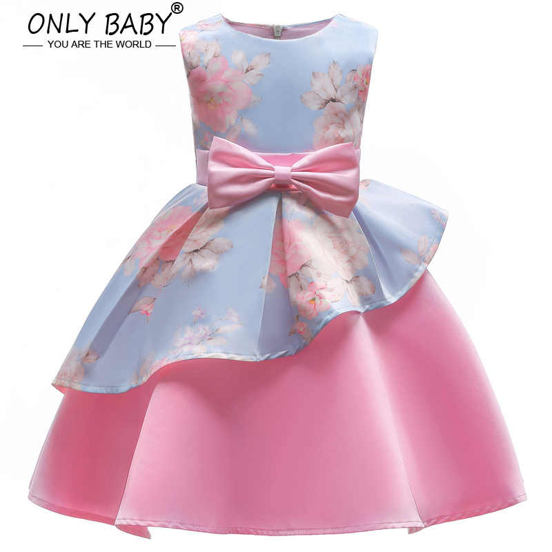 907882a36914d New Baby Girl Clothes Party Girls Dress Eveving Party Children's Dresses  Princess Elsa Dress for The Girl 3 4 5 6 8 7 Years Old