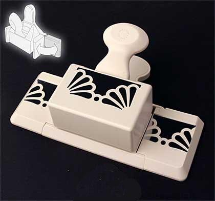 Coupeur de poinçon de papier décoratif de conception de tournesol de style de deep3cm de haute qualité, poinçon de scrapbooking d'artisanat
