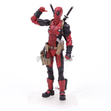 Figma EX 042 Deadpool DX Ver. PVC Action Figure Collectible Model Toy