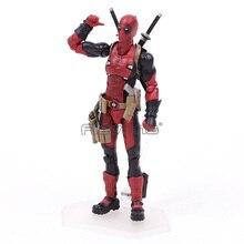 Figma EX 042 Deadpool DX Ver. PVC Action Figure Collectible Modelo Toy